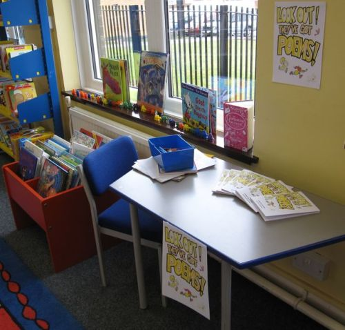 Children's poetry corner thanks to Roger Bradley who produces the group's magazine, Keele Drafts